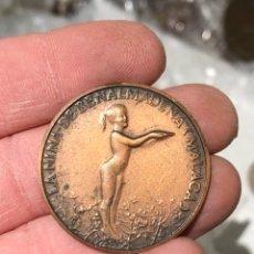 Medalhas temáticas: MEDALLA INAUGURACIÓN DEL PUERTO DE BENALMÁDENA, COBRE. Lote 240719260