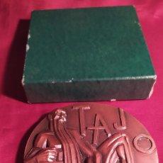 Medallas temáticas: MEDALLA TAJO EN CAJA FNMT. Lote 241304835