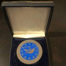 Medalhas temáticas: MEDALLA EURO BIRD SHOW BÉLGICA 1989 EXPOSICIÓN AVES. Lote 241307110