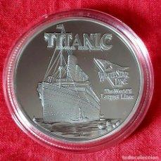 Medallas temáticas: MONEDA CONMEMORATIVA TITANIC. Lote 224601196
