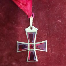 Medallas temáticas: MEDALLA MASONICA EN PLATA DORADA DE SIGLO XIX. Lote 242891390
