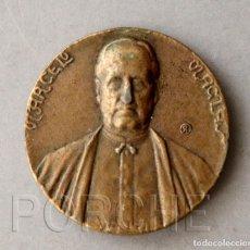 Medallas temáticas: MARCELO MACÍAS - ORADOR POLÍGRAFO - REVERSO PÓRTICO DE LA GLORIA - RÉPLICA - 40 MM DIÁMETRO. Lote 242991525