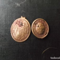 Medallas temáticas: COLGANTES RELIGIOSOS ANTIGUOS A CLASIFICAR. Lote 243127470