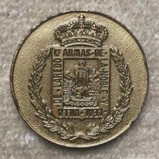 Medallas temáticas: MEDALLA ESCUDO DE LAREDO - CANTABRIA - CONCURSO DE MARMITA 92 - DÍA DEL PUERTO. Lote 243899015