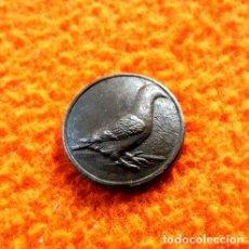 Medalhas temáticas: RARA FICHA PARA CONTAR PALOMAS SOCIEDAD COLOMBOFILA. Lote 244156385