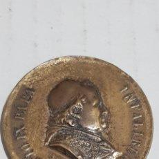 Medalhas temáticas: MEDALLA 1° ROMERIA ESPAÑOLA AL VATICANO 1876. Lote 244592975