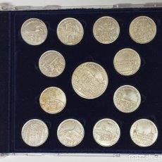 Medalhas temáticas: COLECCIÓN MONEDAS DE PLATA. 90 ANIVERSARIO DIARIO DE LEÓN.. Lote 244745465