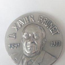 Medallas temáticas: MEDALLA DR XAVIER BRUNET 1897-1977 XI EXPOSICIO FILATELICA I NUMISMATICA BLANES 23-27 JULIOL 1980. Lote 245396665