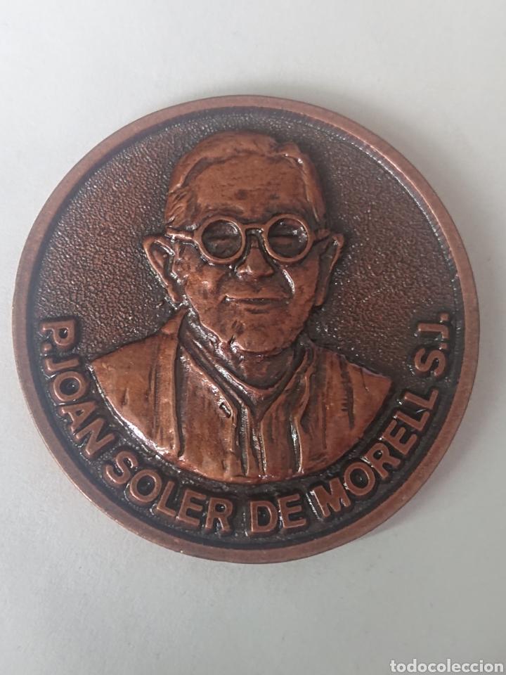 MEDALLA JOAN SOLER DE MORELL XXIV EXP. FIL. NUM G.F.N. ESTRADA BARCELONA 1982 (Numismática - Medallería - Temática)