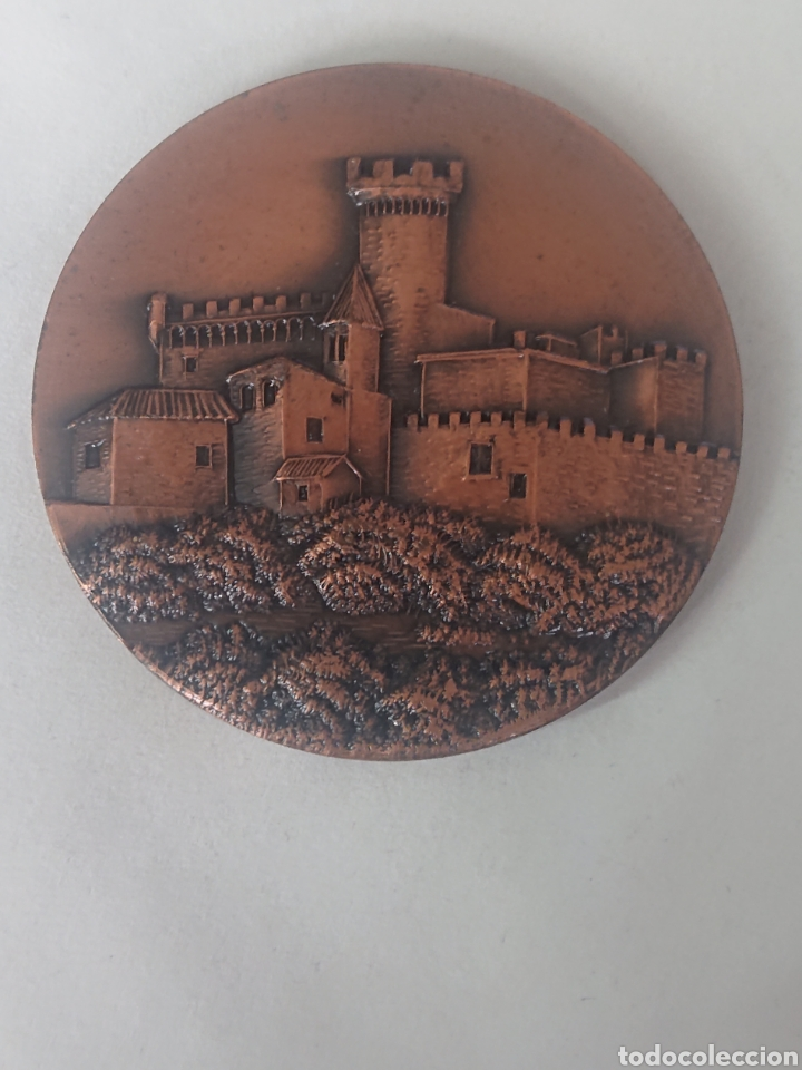 MEDALLA PATRONATO MUNICIPAL DE CULTURA Y DEPORTE CASTELLDEFELS II EXPOSICION FIL. NUM 1972 (Numismática - Medallería - Temática)