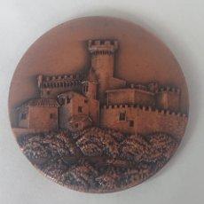 Medallas temáticas: MEDALLA PATRONATO MUNICIPAL DE CULTURA Y DEPORTE CASTELLDEFELS II EXPOSICION FIL. NUM 1972. Lote 245398670