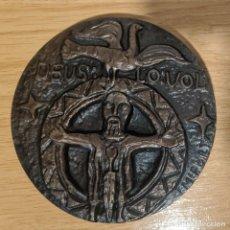 Medalhas temáticas: MEDALLA BRONCE RECONQUISTA DEUS LO VOL. Lote 245467440