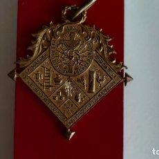 Medallas temáticas: T-570.- MEDALLA, COFRADIA DE LA ADORACION SANTO CRISTO Y VIRGEN SOLEDAD, 1900 PARROQUIA SAN..... Lote 245622375
