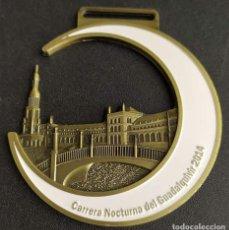 Medallas temáticas: CARRERA NOCTURNA DEL GUADALQUIVIR 2014. SEVILLA. MEDALLA-256. Lote 245631340