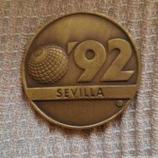 Medalhas temáticas: MEDALLA -SEVILLA 92-. Lote 245899190