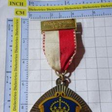Medallas temáticas: MEDALLA DEPORTES TURISMO. ALEMANIA AÑO 1972. MARCHA MONTAÑISMO SENDERISMO. GAUTING. Lote 245951350