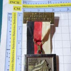 Medallas temáticas: MEDALLA DEPORTES TURISMO. ALEMANIA AÑO 1974. MARCHA MONTAÑISMO SENDERISMO. MEMMINGEN. Lote 245951410