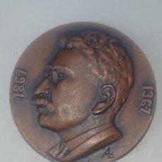Medallas temáticas: MEDALLA CENTENARI NAIXEMENT LLUIS MILLET 1867-1967 ORFEO CATALA BARCELONA. Lote 246326205