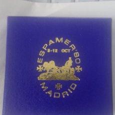 Medallas temáticas: MEDALLA ESPAMER 80 MADRID EXPOSICION FILATELICA DE AMERICA Y EUROPA. Lote 246328475