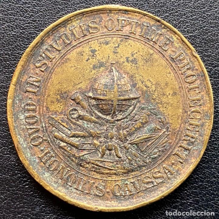MEDALLA COLLEGIUM SACRI CORDIS BARCINONENSE (Numismática - Medallería - Temática)