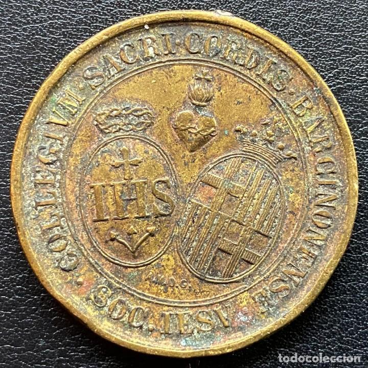 Medallas temáticas: MEDALLA COLLEGIUM SACRI CORDIS BARCINONENSE - Foto 2 - 247124190