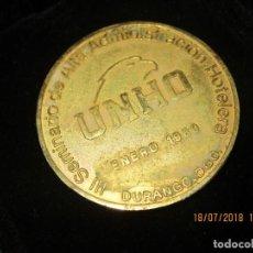 Medallas temáticas: PRECIOSA MEDALLA HOTELES DURANGO 1980 UNHO MEXICO. Lote 247263290