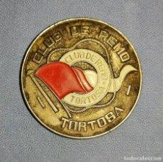 Medallas temáticas: DIFICIL MEDALLA DEL CLUB DE REMO DE TORTOSA BODAS DE PLATA 1946 - 1971 ORIGINAL. Lote 247390205
