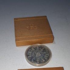 Medaglie tematiches: MONEDA DE PLATA ORIGINAL QUINTO CENTENARIO 10000 PESETAS CINCUENTIN EN CAJA 1990 SERIE II. Lote 247498965