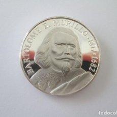 Medallas temáticas: MEDALLA * BARTOLOME E. MURILLO 1617-1682 * PLATA. Lote 249351060