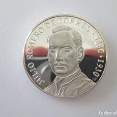 Medallas temáticas: MEDALLA * JULIO ROMERO DE TORRES 1880-1930 * PLATA. Lote 249352120