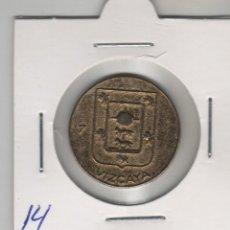 Medallas temáticas: MEDALLA,FICHA,TOKEN: ESCUDO VIZCAYA COLECCION GALLETAS LOSTE-CHAMPAN. Lote 252282260
