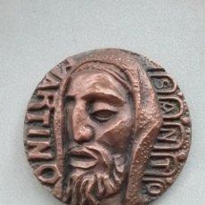 Medallas temáticas: MEDALLA BRONCE SANTO MARTINO. PORTA 1968.. Lote 253634020