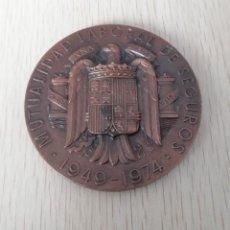 Medallas temáticas: MEDALLA MUTUALIDAD LABORAL DE SEGUROS 25 ANIVERSARIO, MIDE 7 CM DIAMETRO, PESA 170 GRAMOS, DISEÑAD. Lote 253765840