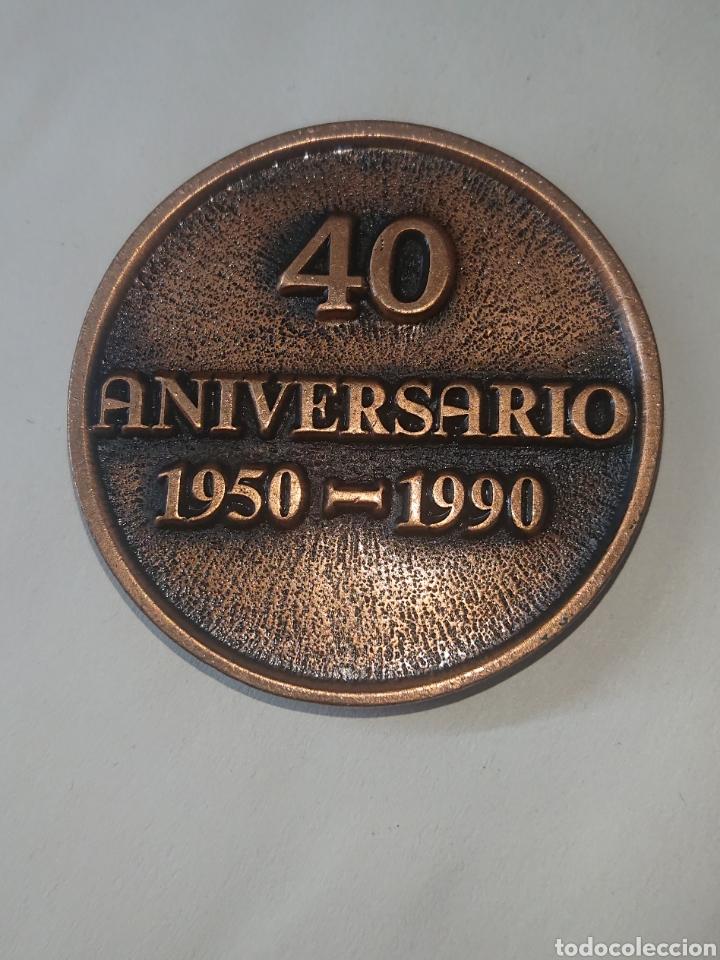 Medallas temáticas: MEDALLA CASA DE ALMERIA EN BARCELONA 40 ANIVERSARIO 1950-1990 - Foto 2 - 254424260