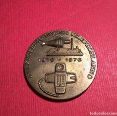 Medallas temáticas: MEDALLA TELEFÓNICA, 1976, IN CENTÉSIMO INVENTI TELEPHONI ANNO, 1876 1976. Lote 254855590