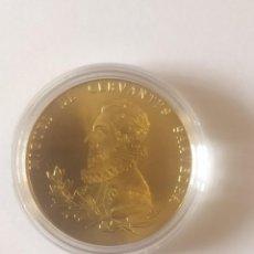 Medallas temáticas: IV CENTENARIO PRIMERA EDICION DE EL QUIJOTE. Lote 291595128