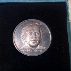 Medallas temáticas: MEDALLA CON SU CAJA ORIGINAL DE VACLAV HALEY - PRAHA PRAGA - 1992 CROACIA CZECHOELOVAKIA. Lote 257444785