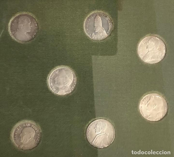 Medallas temáticas: LOTE DE 9 MONEDAS VATICANO. SE PRESENTAN ENMARCADAS - Foto 3 - 257454080