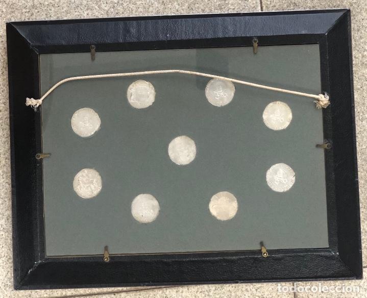 Medallas temáticas: LOTE DE 9 MONEDAS VATICANO. SE PRESENTAN ENMARCADAS - Foto 4 - 257454080