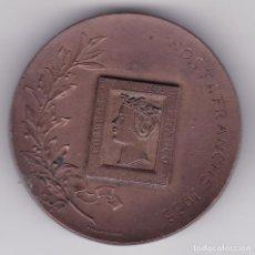 Médailles thématiques: CM62- MEDALLA EXPO FILATÉLICA HOSTAFRANCHS 1955. 50 MM. Lote 260806580