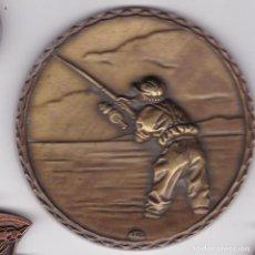 Médailles thématiques: ST(HB)- MEDALLA 87 MM. PESCA. Lote 260828940