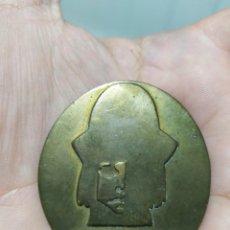 Medallas temáticas: ANTIGUA MEDALLA PLACA DE BRONCE DE DISCOTECA DISCO TIFFANYS - TORREMOLINOS MADRID. Lote 261117590