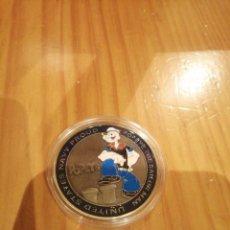 Medallas temáticas: MEDALLA DE POPEYE. Lote 261858715