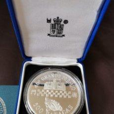 Medallas temáticas: 40º GRANDE PREMIO DE MACAU 500 PATACAS MEDALLA PLATA 1993 RARO. Lote 262946060