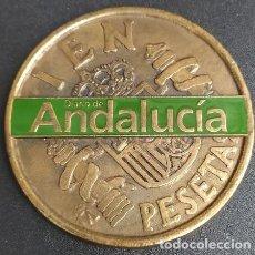Medallas temáticas: MEDALLA. MONEDA CIEN PESETAS DIARIO DE ANDALUCÍA. MEDALLA-460. Lote 262956610