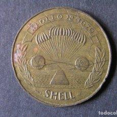 Medallas temáticas: FICHA-TOKEN SHELL - APOLO XIII. Lote 263155830
