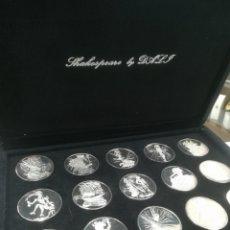 """Medalhas temáticas: MEDALLAS """"SHAKESPEARE BY DALI"""" COLECCIÓN. Lote 263164025"""