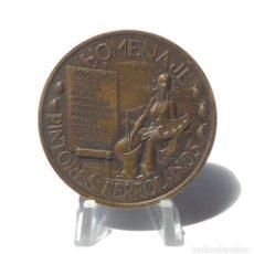 Medallas temáticas: EXP.CONMEMORATIVA. HOMENAJE PINTORES FERROLANOS-1980. 6 CM DIÁMETRO.. Lote 264805134