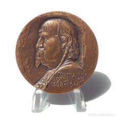 Medallas temáticas: MEDALLA CHISTIANUS - IV. REX.DAN.NOR. 1588-1648.- 5,6 CM DIÁMETRO.. Lote 264805679