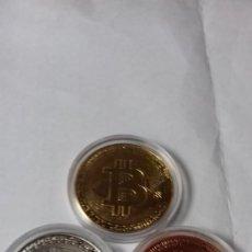Medallas temáticas: BITCOINS LA COLECCION COMPLETA. Lote 264961799